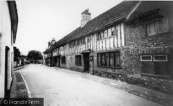 Alfriston, The George Inn, High Street c.1960