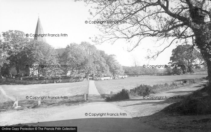 Photo of Alfriston, The Green c.1960