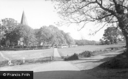 Alfriston, The Green c.1960