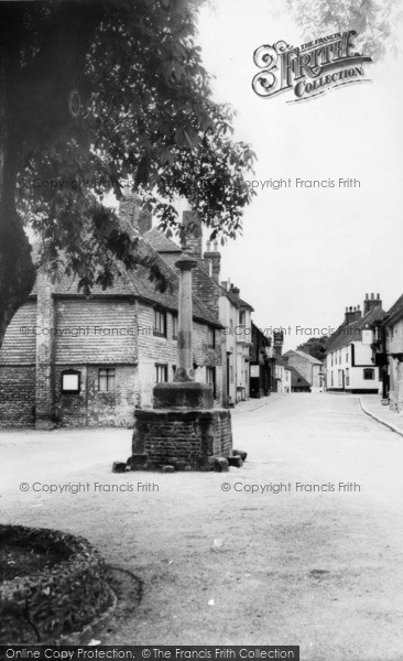 Photo of Alfriston, The Market Cross c.1960