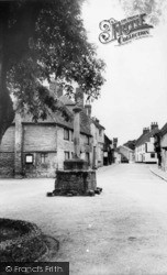 Alfriston, The Market Cross c.1960