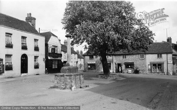 Alfriston, The Market Square c.1960