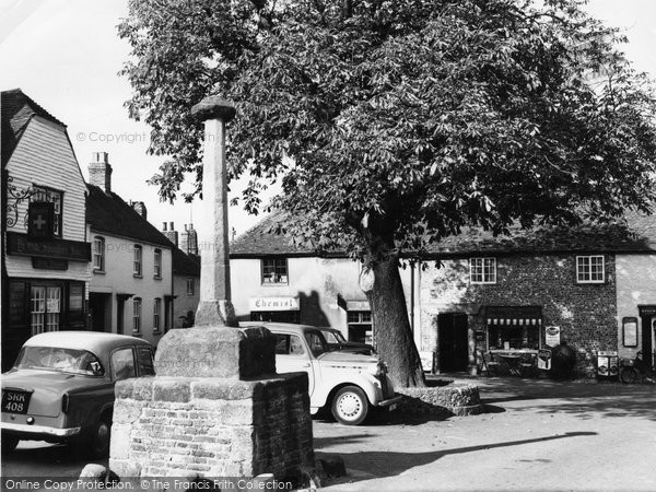 Photo of Alfriston, The Market Square c.1960