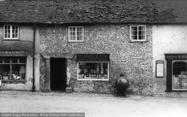 Photo of Alfriston, The Singing Kettle c.1960