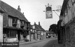Alfriston, The Star Inn c.1955