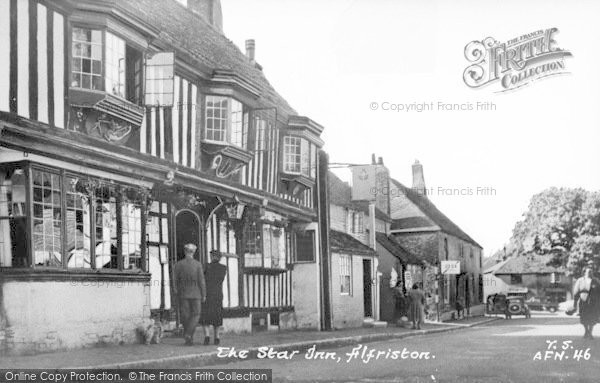 Photo of Alfriston, The Star Inn c.1955
