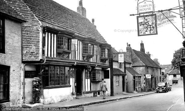 Photo of Alfriston, The Star Inn c.1958