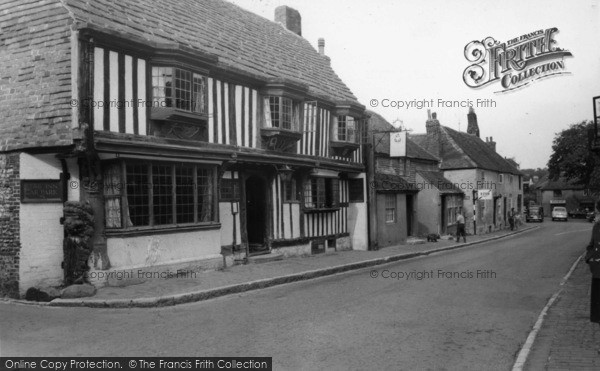 Photo of Alfriston, The Star Inn c.1960