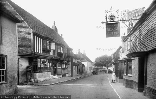 Photo of Alfriston, The Village  1921