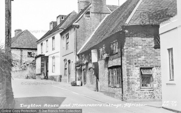 Photo of Alfriston, Twytton House And Moonrakers Cottage c.1960