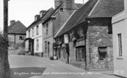 Alfriston, Twytton House And Moonrakers Cottage c.1960