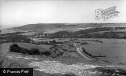 Alfriston, View From High And Over c.1960