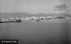 The Harbour c.1960, Algeciras