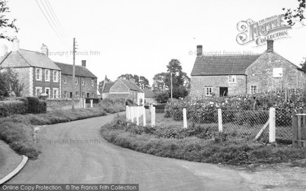 Photo of Alhampton, The Village c.1955