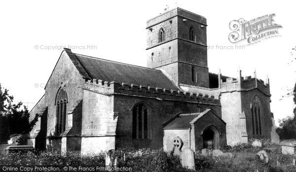 All Cannings, All Saints' Church c1960