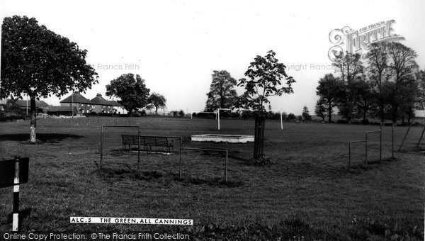 Photo of All Cannings, The Green c.1960