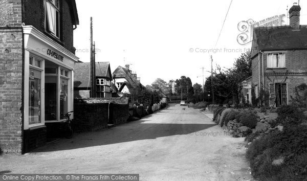 All Cannings, The Street c.1960