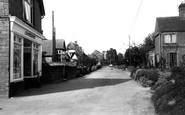 All Cannings, the Street c1960