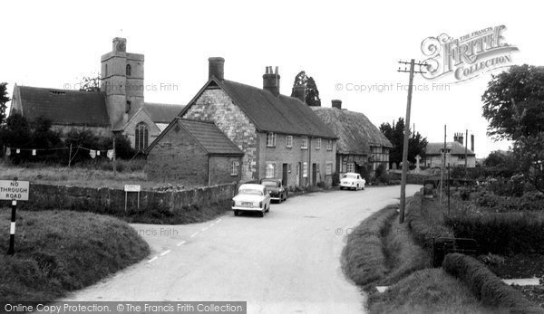All Cannings, the Village c1960