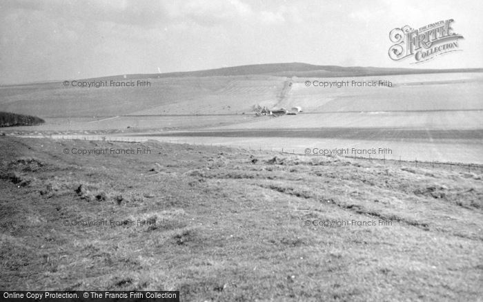 Photo of All Cannings, Wansdyke 1950