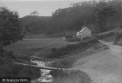 All Stretton, Entrance To Batch Valley 1910