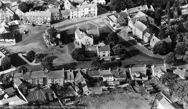 Photo of Allendale, Aerial View c.1955