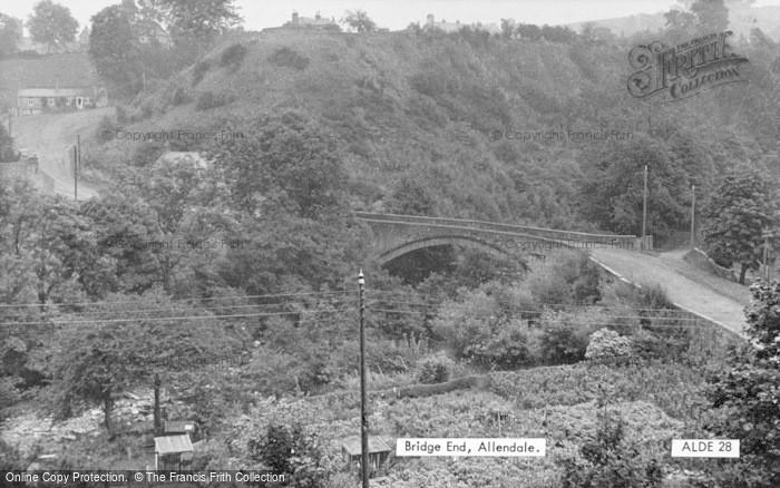 Photo of Allendale, Bridge End c.1955
