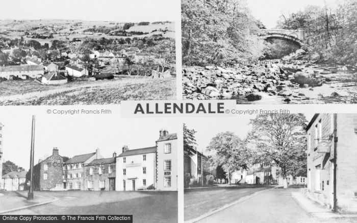 Photo of Allendale, Composite c.1950