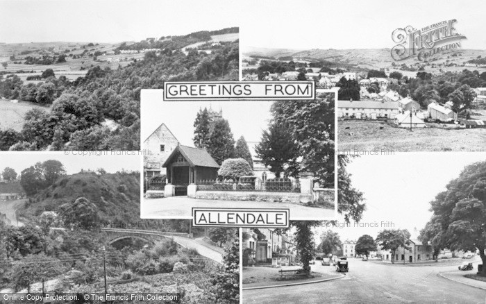 Photo of Allendale, Composite c.1955