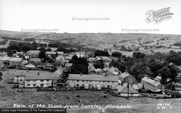 Photo of Allendale, From Lonkley c.1950