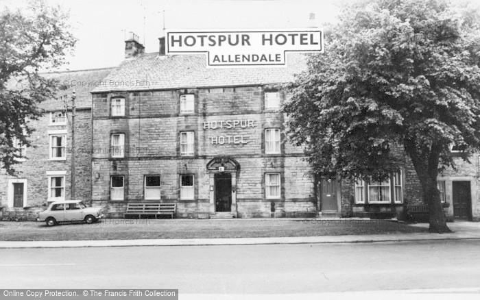 Photo of Allendale, Hotspur Hotel c.1960