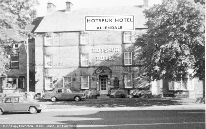 Photo of Allendale, Hotspur Hotel c.1965
