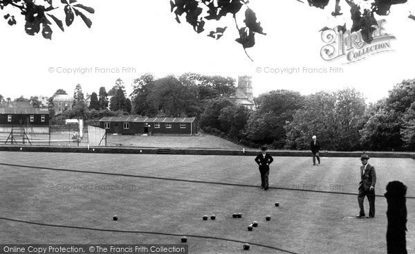 Allendale, Recreation Ground c.1955