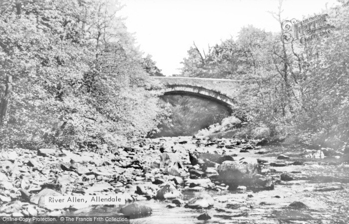 Photo of Allendale, River Allen c.1950