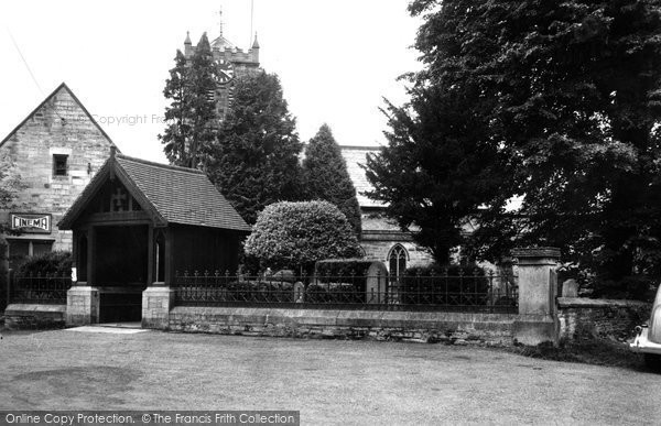 Photo of Allendale, St. Cuthbert's Church c1950, ref. A102001