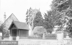 Allendale, St Cuthbert's Church c.1955