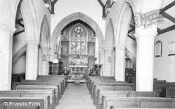Allendale, St Cuthbert's Church, Interior c.1955