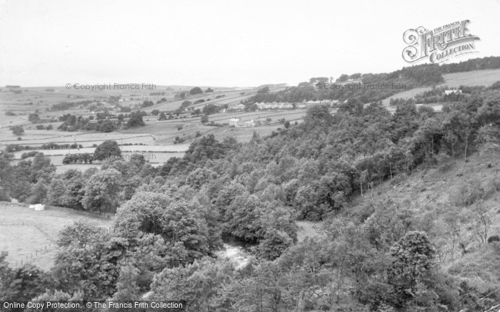 Photo of Allendale, The Allen And Station Road c.1950