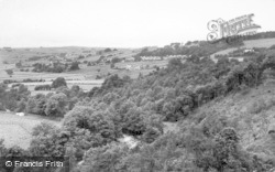 Allendale, The Allen And Station Road c.1950