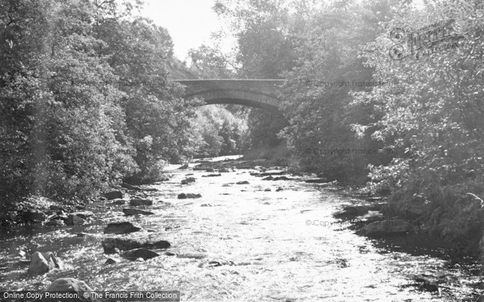 Photo of Allendale, The Bridge And River c.1960