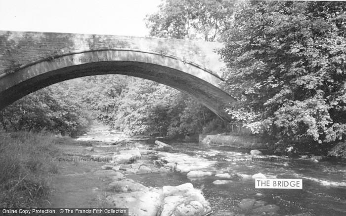 Photo of Allendale, The Bridge c.1960