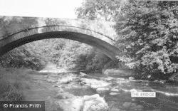 Allendale, The Bridge c.1960