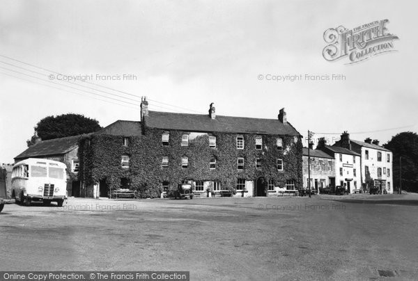 Photo of Allendale, The Dale Hotel And Square c.1955