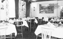 Allendale, The Dining Room, Hotspur Hotel c.1965