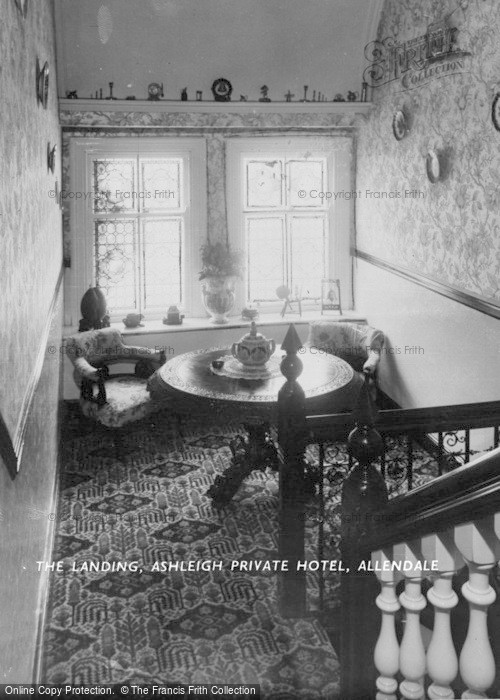 Photo of Allendale, The Landing, Ashleigh Private Hotel c.1955