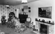 Allendale, The Lounge, Hotspur Hotel c.1955