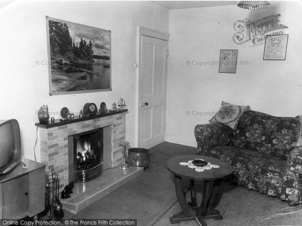 Photo of Allendale, The Lounge, Hotspur Hotel c.1960