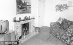 Allendale, The Lounge, Hotspur Hotel c.1960