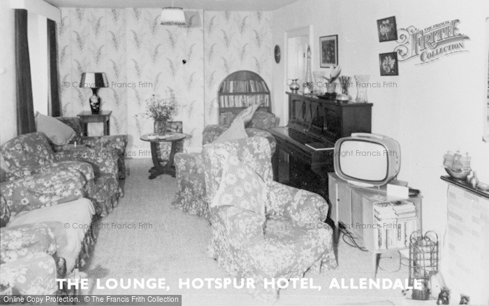 Photo of Allendale, The Lounge, Hotspur Hotel c.1965