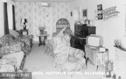 Allendale, The Lounge, Hotspur Hotel c.1965